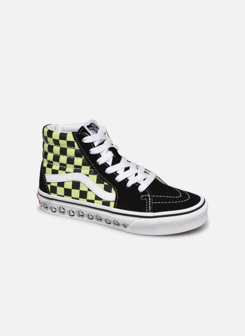Sneaker Vans SK8-Hi K schwarz detaillierte ansicht/modell