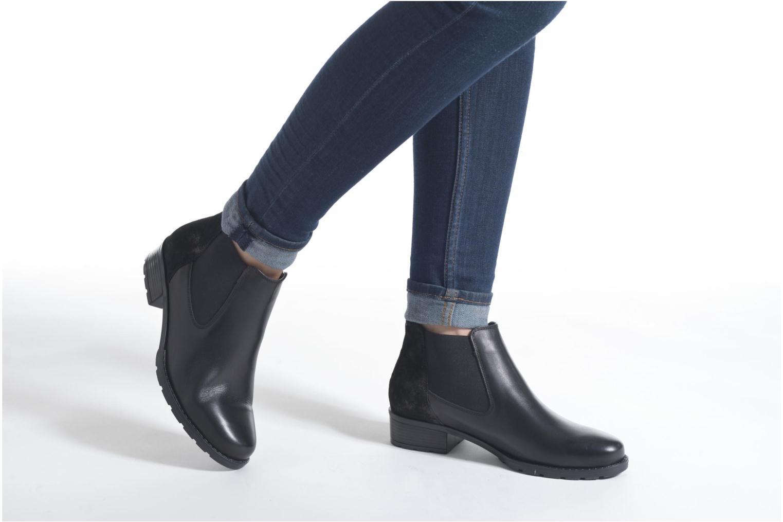 Bottines et boots Ara Liverpool 49501 Gris vue bas / vue portée sac