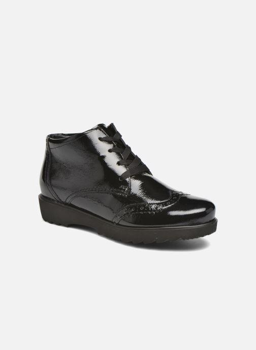 Snøresko Ara Malmo 41570 Sort detaljeret billede af skoene