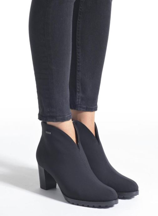 Bottines et boots Ara GRS 44155 Noir vue bas / vue portée sac
