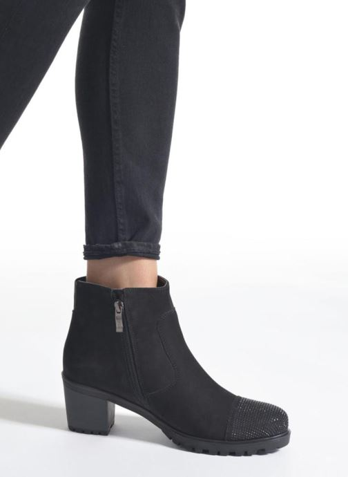 Ankle boots Ara Mantova 47330 Black view from underneath / model view
