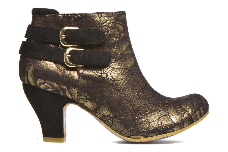 Bottines et boots Irregular Choice Think About It Or et bronze vue derrière