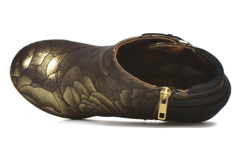 Bottines et boots Irregular Choice Think About It Or et bronze vue gauche