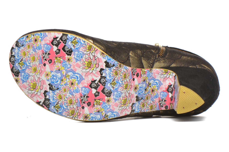 Bottines et boots Irregular Choice Think About It Or et bronze vue haut