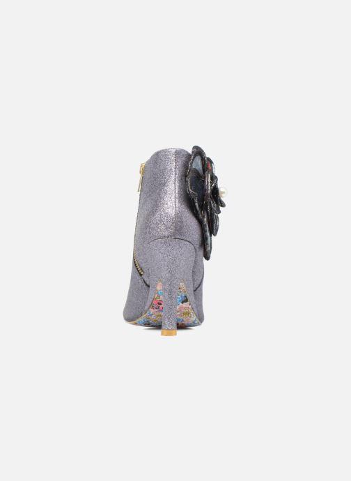 Boots en enkellaarsjes Irregular Choice Pearl Necture Zilver rechts