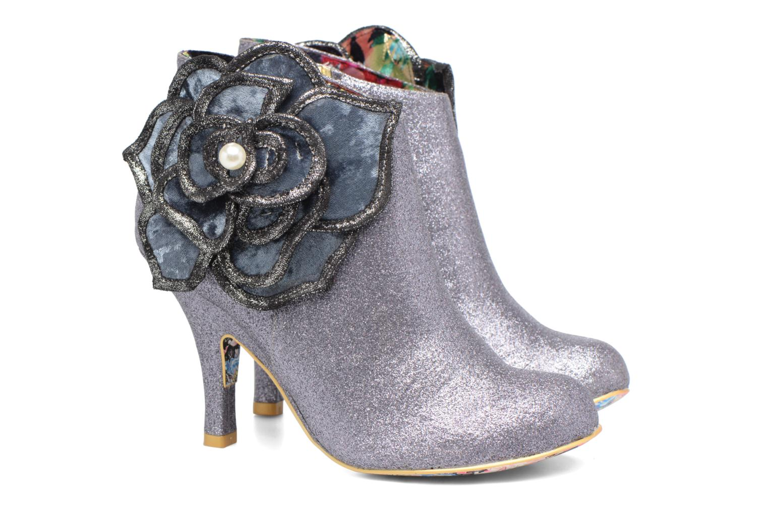 Bottines et boots Irregular Choice Pearl Necture Argent vue 3/4
