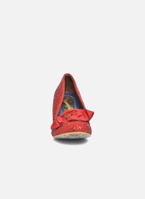 Escarpins Irregular Choice Kanjanka Rouge vue portées chaussures