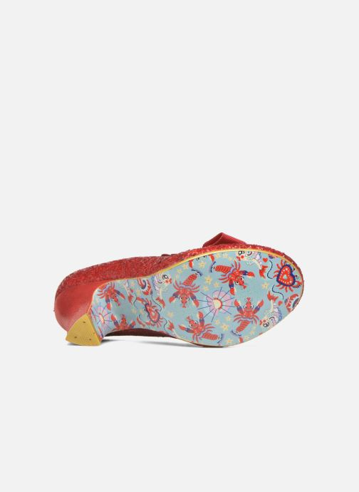 Escarpins Irregular Choice Kanjanka Rouge vue haut