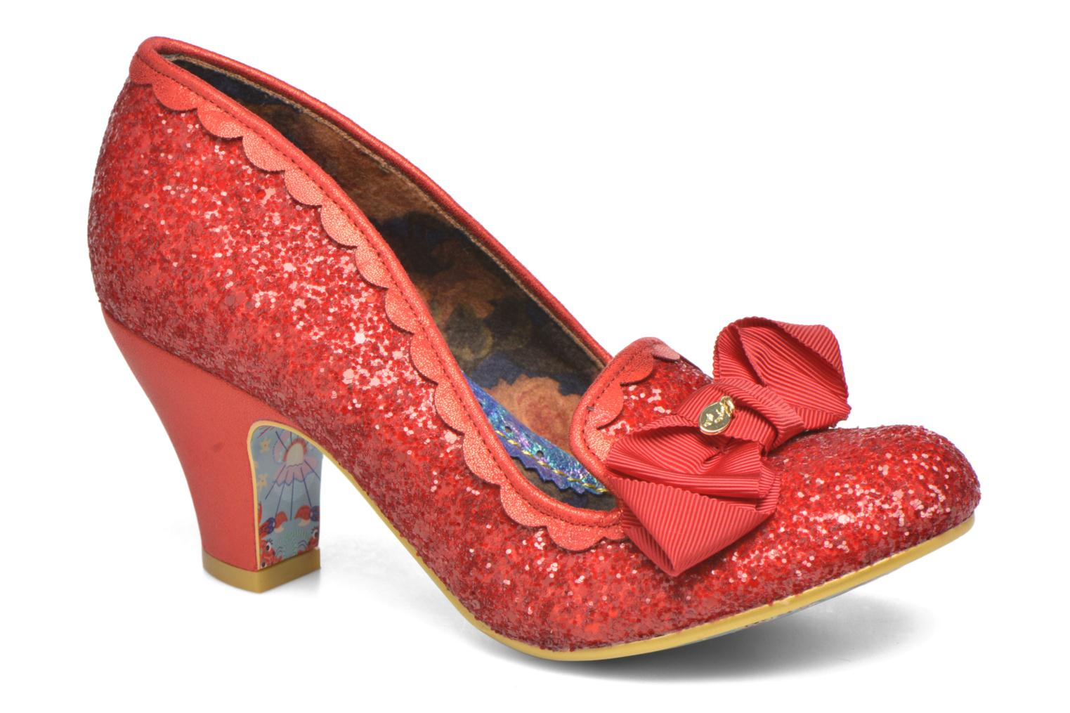 Escarpins Irregular Choice Kanjanka Rouge vue détail/paire