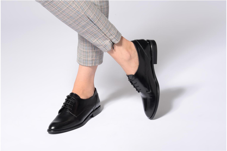 Chaussures à lacets Jonak 2545 Noir vue bas / vue portée sac