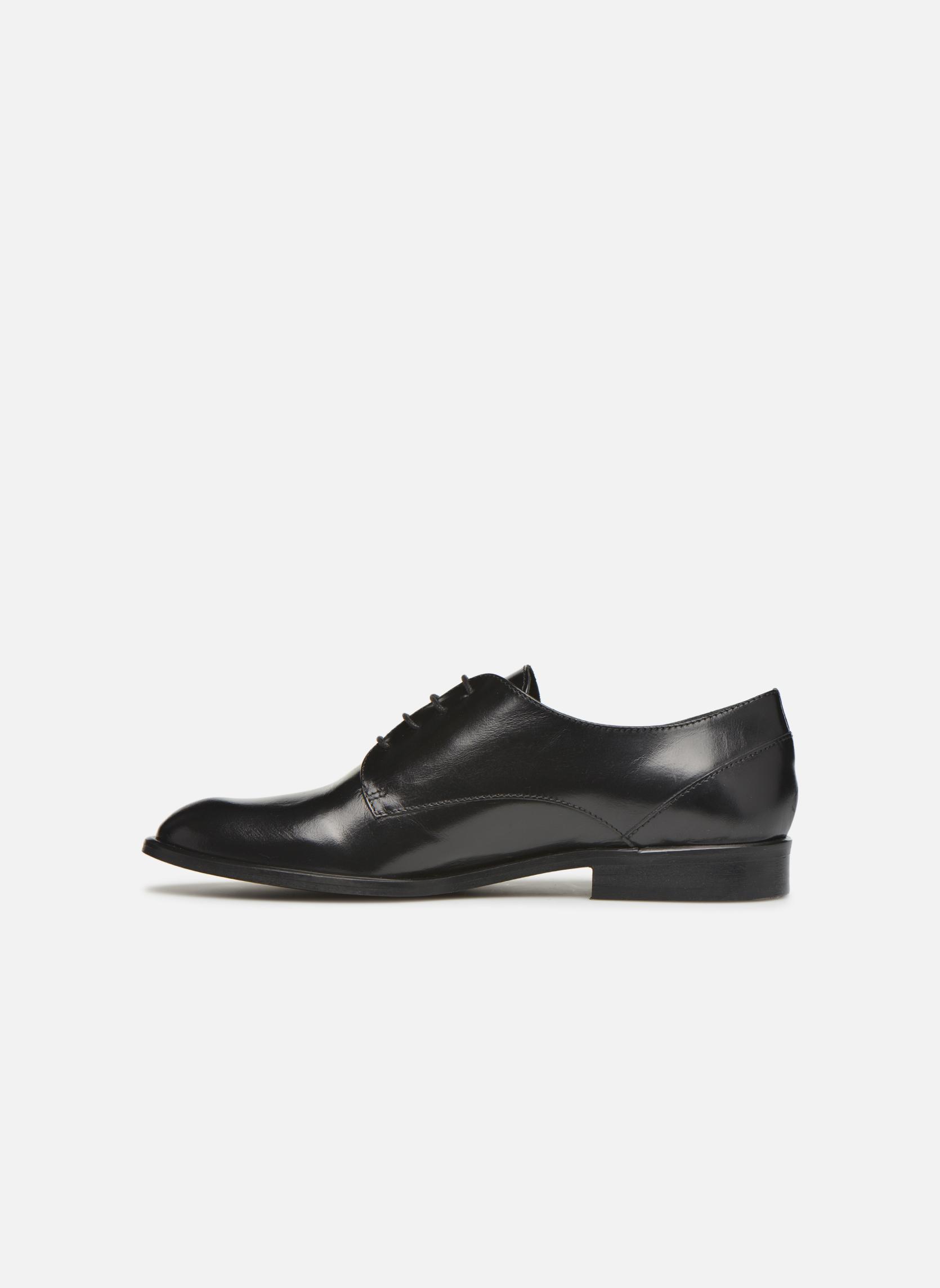 Chaussures à lacets Jonak 2545 Noir vue face
