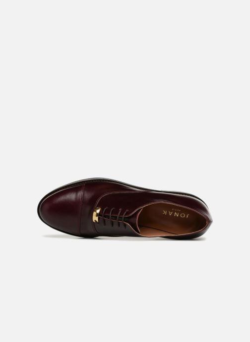 Deegan Lacets Chaussures Jonak Bordeaux À PikXZu