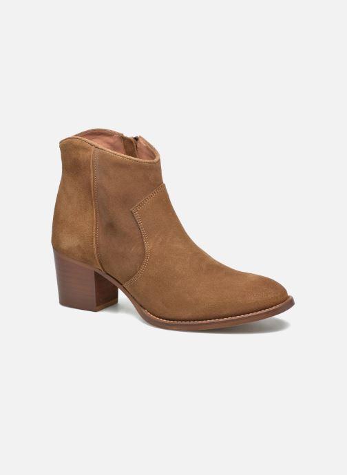 3d7c7f19f20 Jonak Dakota (Marron) - Bottines et boots chez Sarenza (272534)