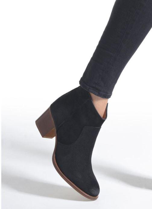 Bottines et boots Jonak Dakota Noir vue bas / vue portée sac