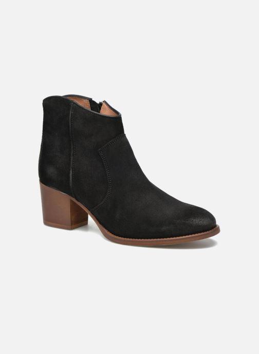 Boots en enkellaarsjes Jonak Dakota Zwart detail