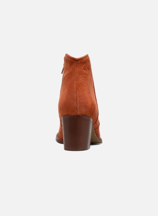 Boots en enkellaarsjes Jonak Dakota Oranje rechts