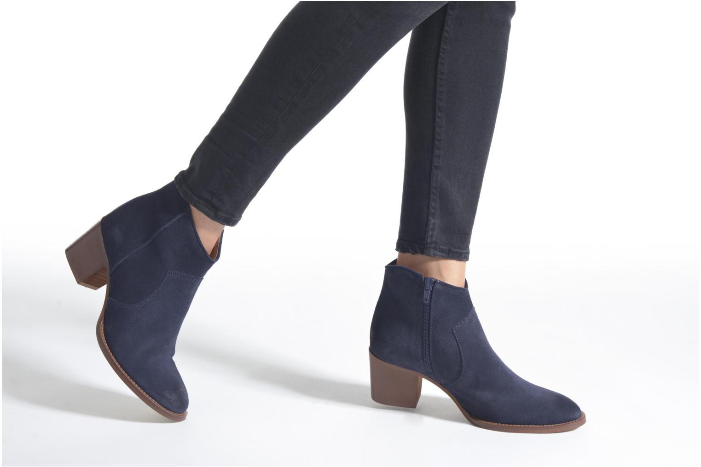 Bottines et boots Jonak Dakota Bleu vue bas / vue portée sac