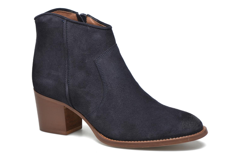 Bottines et boots Jonak Dakota Bleu vue détail/paire