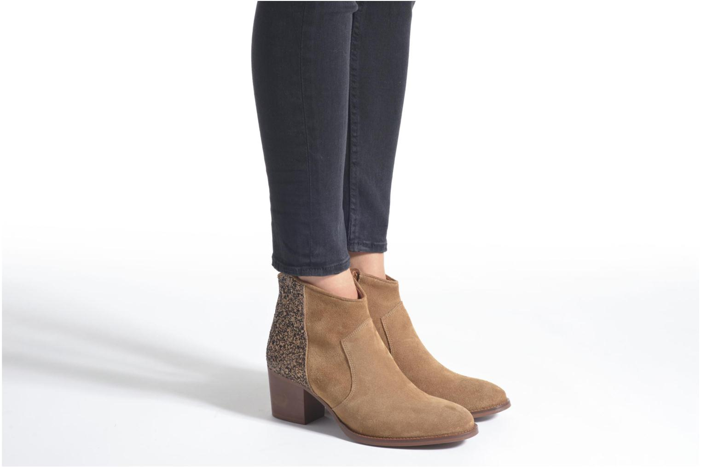 Bottines et boots Jonak Dakota Orange vue bas / vue portée sac