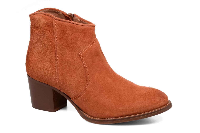 Bottines et boots Jonak Dakota Orange vue détail/paire
