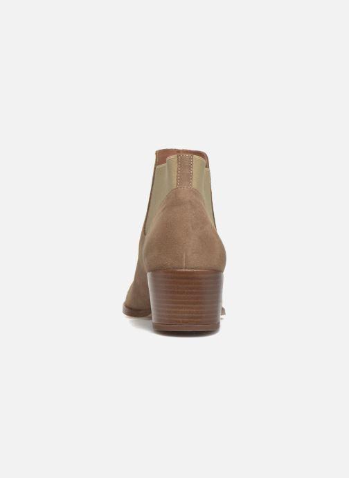 Bottines et boots Jonak Darde Beige vue droite
