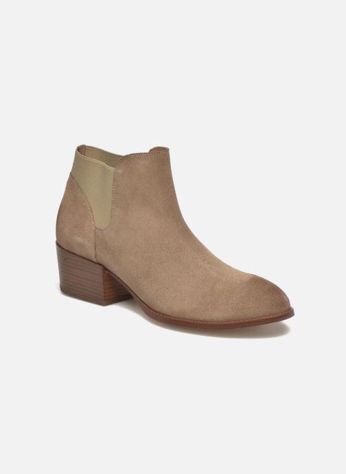 Boots en enkellaarsjes Jonak Darde Beige detail