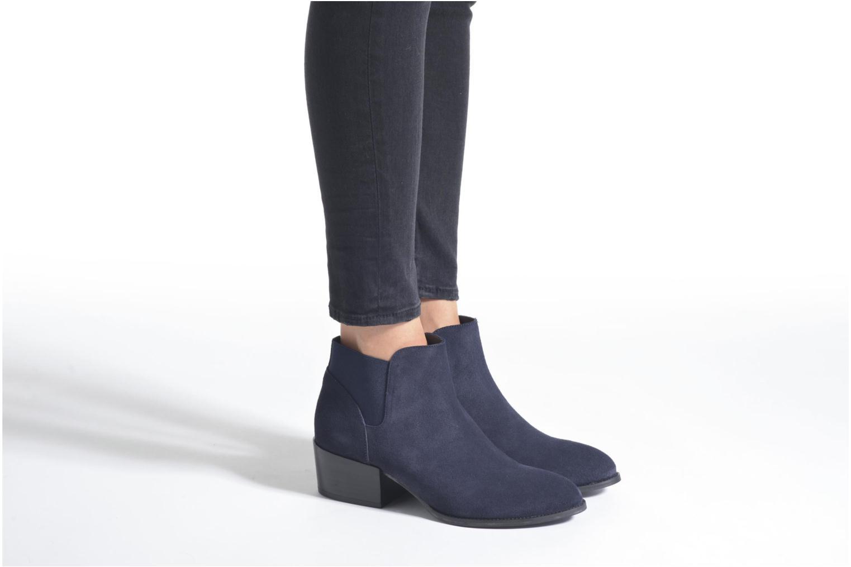 Bottines et boots Jonak Darde Bleu vue bas / vue portée sac