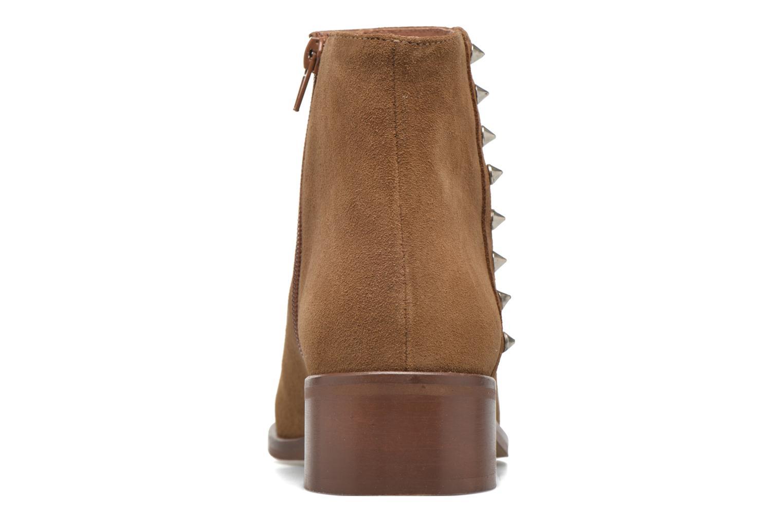 Bottines et boots Jonak Duriel Marron vue droite