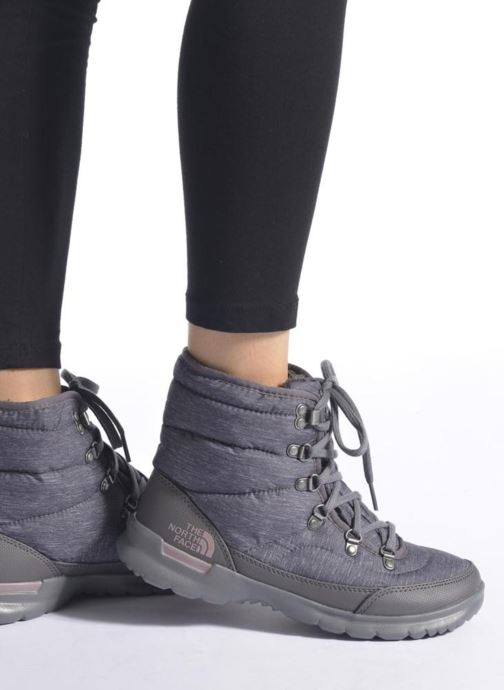 Chaussures de sport The North Face W Thermoball Lace II Noir vue bas / vue portée sac