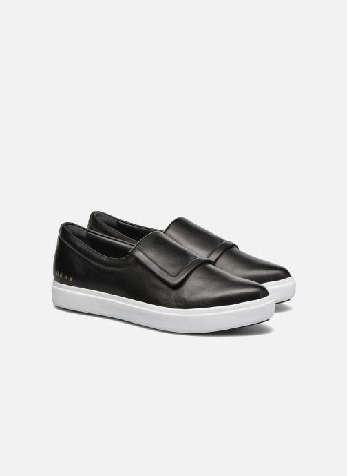Sneakers DKNY Tanner -Eva mold slip on Svart 3/4 bild