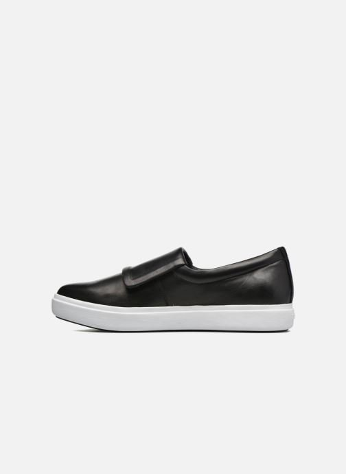 Sneakers DKNY Tanner -Eva mold slip on Nero immagine frontale