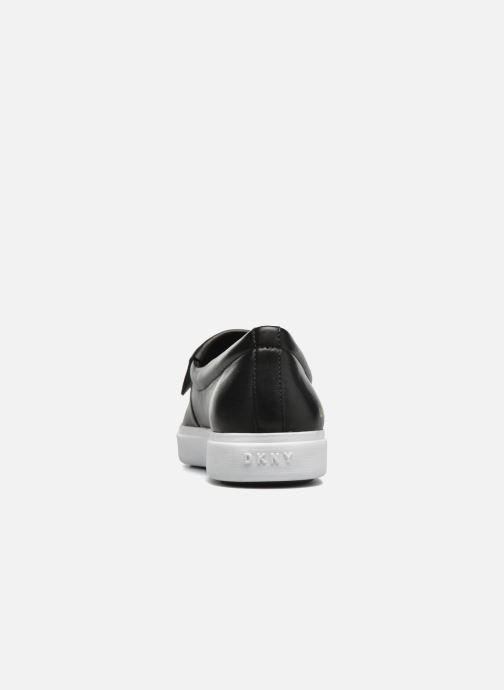 Baskets DKNY Tanner -Eva mold slip on Noir vue droite