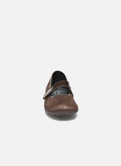 Ballerines I Love Shoes mantaisie Marron vue portées chaussures