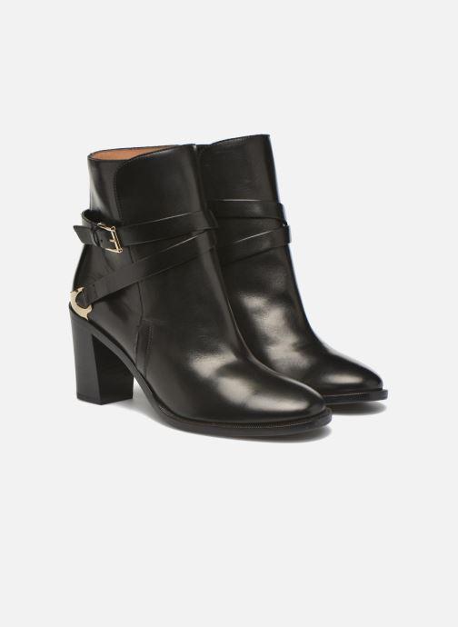 Bottines et boots Fratelli Rossetti Magenta hobo Noir vue 3/4