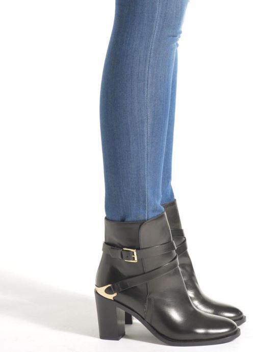 Bottines et boots Fratelli Rossetti Magenta hobo Noir vue bas / vue portée sac
