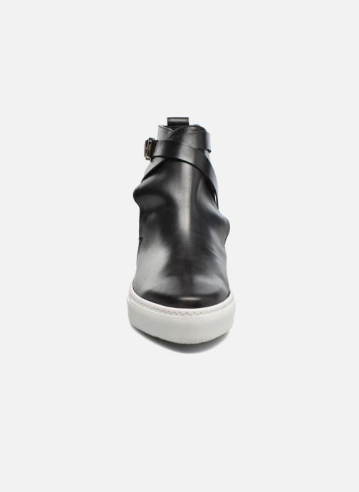Bottines et boots Fratelli Rossetti Magenta hobo Noir vue portées chaussures