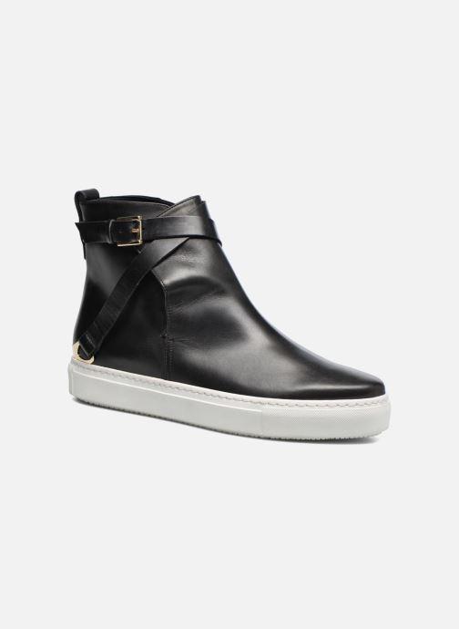 Bottines et boots Fratelli Rossetti Magenta hobo Noir vue détail/paire