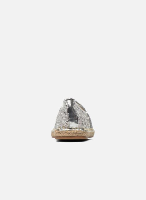 Espadrilles Divine Factory Steni Silver view from the right