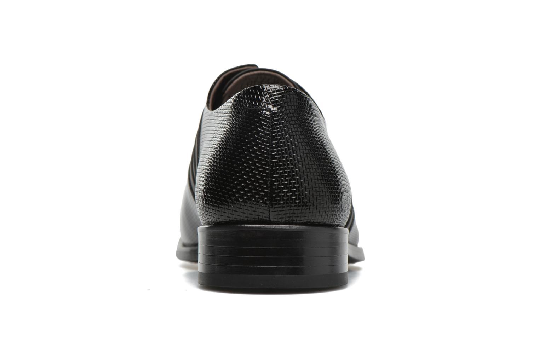 Chaussures à lacets KARL LAGERFELD Bernardo Noir vue droite
