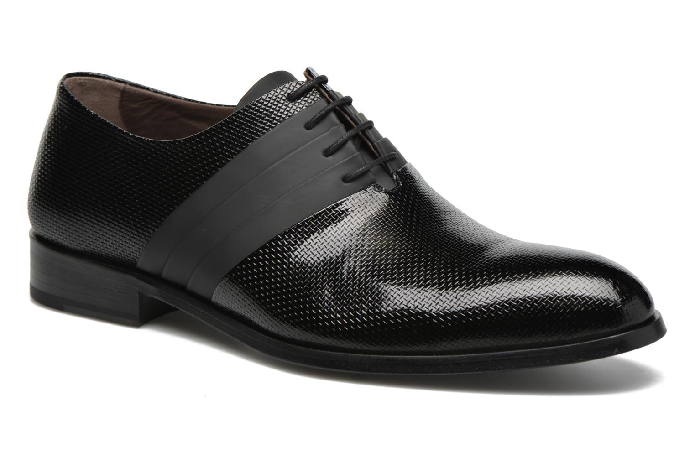Chaussures à lacets KARL LAGERFELD Bernardo Noir vue détail/paire