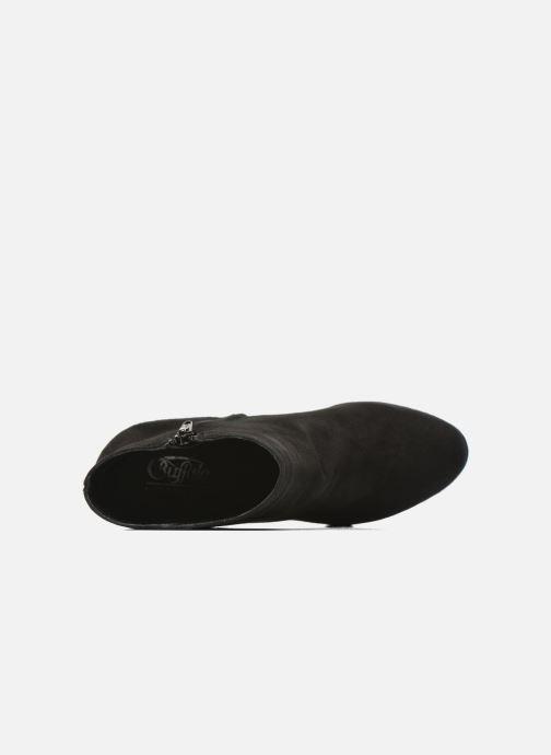Bottines et boots Buffalo Emy Noir vue gauche