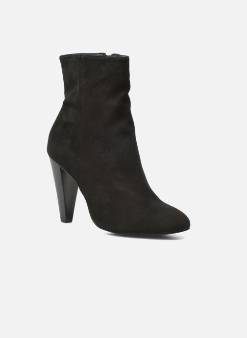 Ankle boots Buffalo Naia Black detailed view/ Pair view