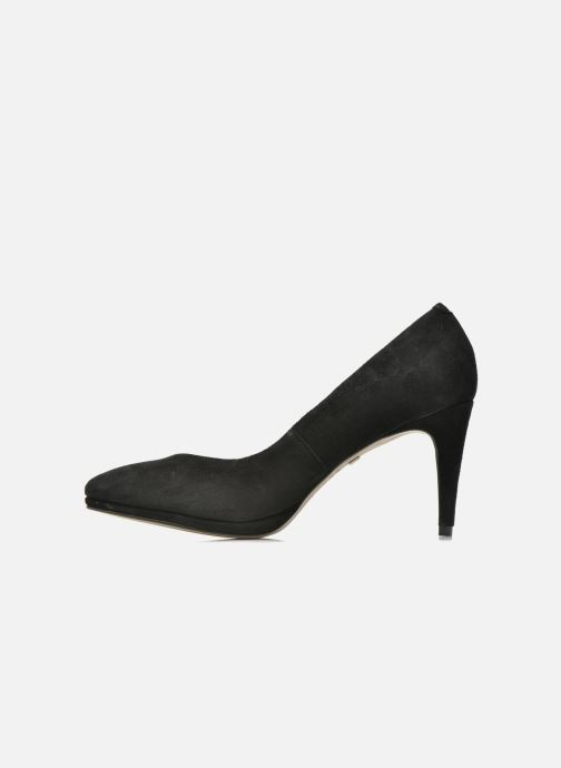 High heels Buffalo Leonce Black front view