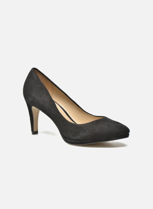 High heels Buffalo Leonce Black detailed view/ Pair view