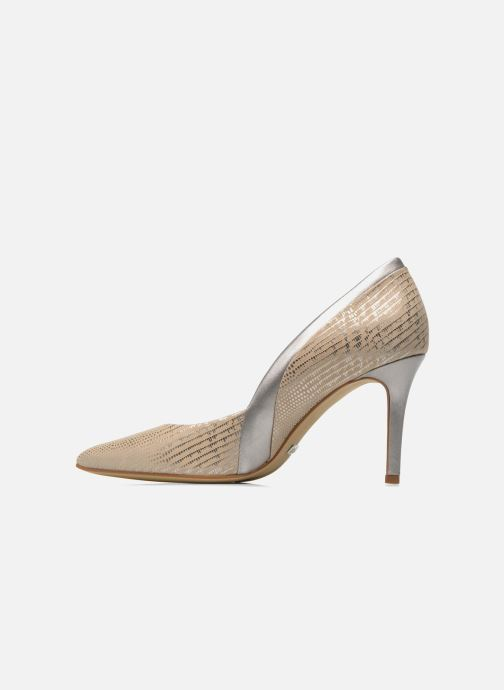 High heels Buffalo Maiwen Beige front view