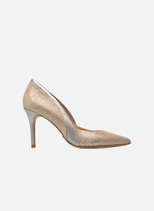 High heels Buffalo Maiwen Beige back view