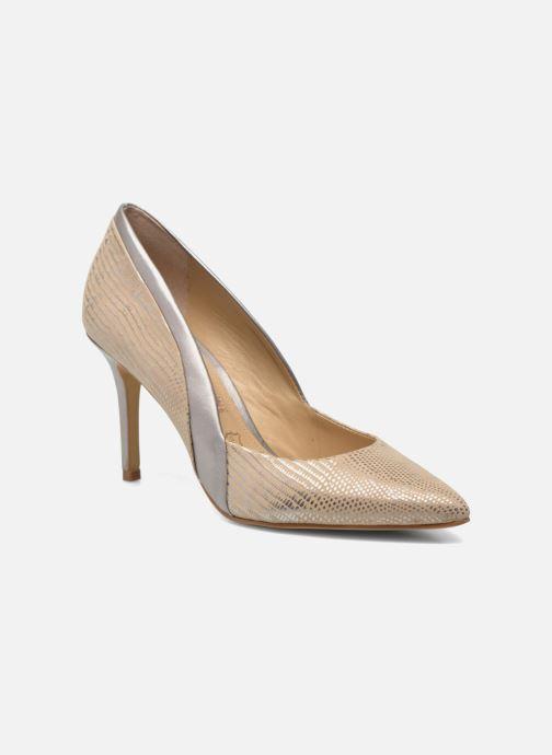High heels Buffalo Maiwen Beige detailed view/ Pair view