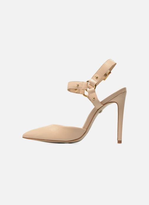 High heels Buffalo Loea Beige front view
