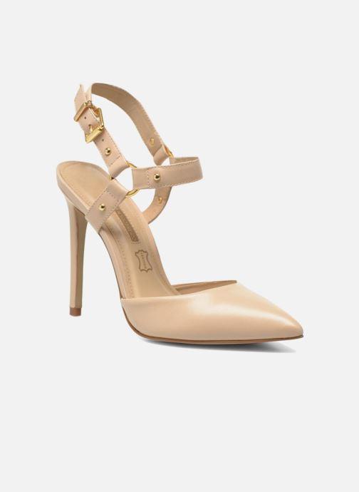 High heels Buffalo Loea Beige detailed view/ Pair view