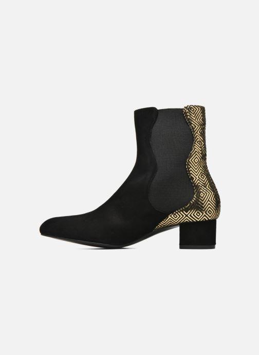 Bottines et boots Mellow Yellow Atonino Noir vue face